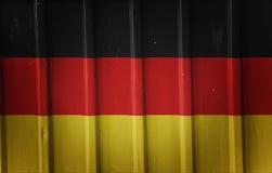 Grunge german flag Stock Photo