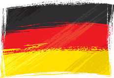 Grunge Germany flag vector illustration