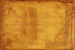 Grunge gescheurd document met natuurlijke vezels Royalty-vrije Stock Afbeeldingen