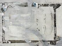 Grunge gescheurde afficheachtergrond Stock Afbeelding
