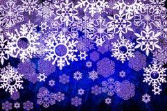 Grunge geweven voor vrolijke Kerstmisdag Royalty-vrije Stock Afbeeldingen