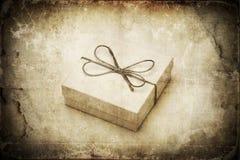 Grunge gift Stock Image
