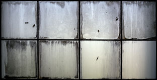 Grunge glass window Royalty Free Stock Images