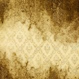 Grunge gold background. With space for text or image royalty free illustration