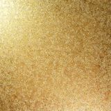 Grunge Gold Beaten Metal Texture Royalty Free Stock Photography