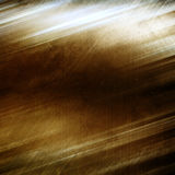 Grunge gold metal background with cracks and scratches Royalty Free Stock Photography