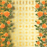 Grunge gold paper for congratulation Royalty Free Stock Photo