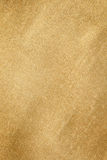 Grunge gold texture Stock Images
