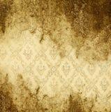 Grunge Goldhintergrund Lizenzfreie Stockfotografie