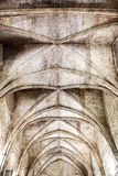 Grunge Gothic Ceiling Stock Photography