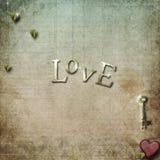 Grunge gradient love