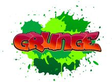 Grunge graffiti background Stock Photos