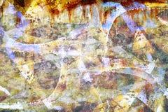 Grunge graffiti background Stock Photo