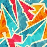 Grunge graffiti seamless pattern Stock Photos