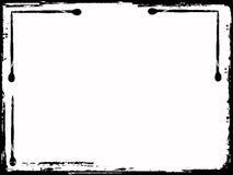 grunge graniczny zdjęcia stock