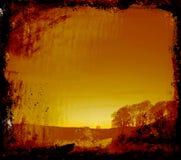 grunge graniczny piśmie przestrzeni Fotografia Stock