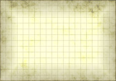 Grunge Graph Paper. Antique and Old Grunge Graph Paper with Grids Royalty Free Stock Photo