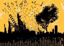 Grunge graphic background  Stock Photos