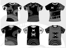 Grunge graphic t-shirt Stock Image