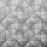 Grunge gray. Abstract, hand drawn, geometric pattern with 3d, simple ornament over paper texture. vector background design Royalty Free Stock Photos