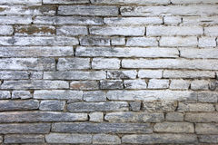 Grunge gray bricks texture wall and background royalty free stock images