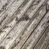 Grunge gray and light brown wood wall texture and background Royalty Free Stock Photography