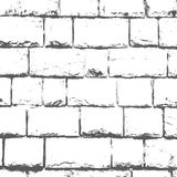 Grunge gray and White Texture. Vector abstract Background. Grunge gray and White Texture. Vector abstract Background and border. Old white brick wall royalty free illustration