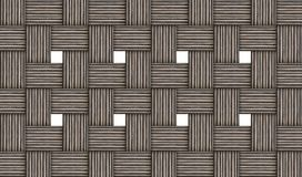 Grunge gray wicker abstract background. wooden pattern on white background. Volume effect royalty free illustration