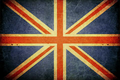 Grunge great britain flag Royalty Free Stock Photography