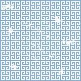 Grunge greek pattern Stock Images