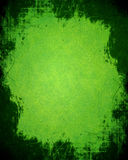 Grunge green background Stock Photo