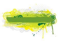 Grunge green background design Stock Photography