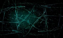 Grunge green and black 3d wall texture of concrete floor background for creation abstract.