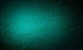 Grunge green and black wall texture of concrete floor background for creation abstract.