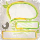 Grunge Green design Royalty Free Stock Photo