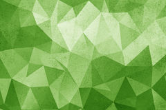 Grunge green polygonal vintage old background. Royalty Free Stock Photos