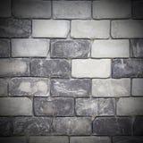 Grunge grey brick wall Royalty Free Stock Image