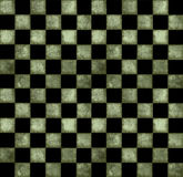 Grunge grey checkered board Stock Photos