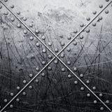 Grunge grey metal background Royalty Free Stock Photos