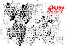 Grunge grid texture. Abstract template dot background. Vector print illustration. Royalty Free Stock Photography