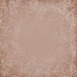 Grunge grijze beige achtergrond Royalty-vrije Stock Afbeelding