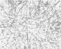 Grunge grijze textuur op witte achtergrond Het effect van gekrast, uitstekend document Vectorillustratiebekleding voor uw ontwerp royalty-vrije illustratie