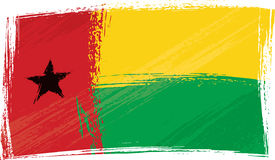 Grunge Guinea-Bissau flag Royalty Free Stock Images