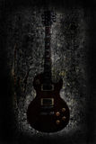 Grunge guitar background Stock Photography