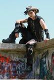 Grunge Guy Stock Images