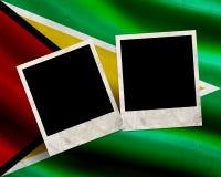 Grunge Guyana flag Stock Images