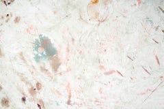 Grunge ha fenduto il muro di cemento Bellezza della natura Fotografie Stock
