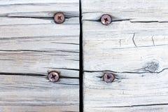 Grunge ha trattato la priorità bassa unita di legno immagine stock libera da diritti