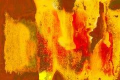 Grunge ha verniciato la parete Immagini Stock