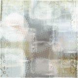 Grunge halftone background. Sponged halftone on cool toned background Royalty Free Stock Photo